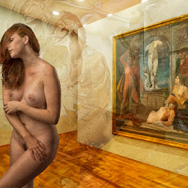 The Nude is Art by Tom Gore - Digital Art People ( nude, woman, beauty, surreal )