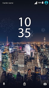 XPERIA™ New Year's Eve Theme