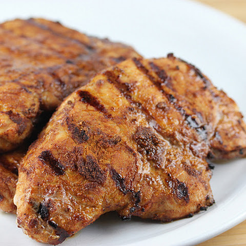Smoked Grilled Pork Chops