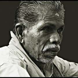 Dukhia by Prasanta Das - People Portraits of Men ( neighborhood, grocer, portrait )