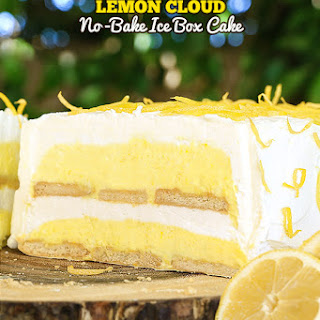 Lemon Cloud No-Bake Ice Box Cake