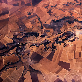Burned lands. by Estislav Ploshtakov - Abstract Patterns