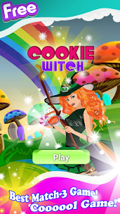 Cookie Witch - screenshot