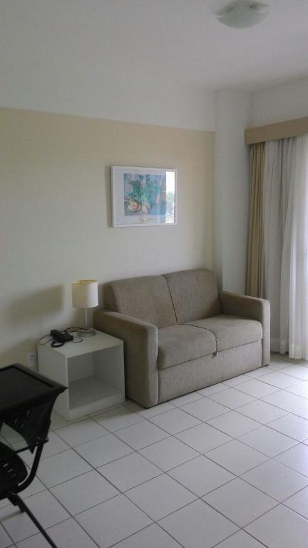 Flat residencial para locação, Ponta do Farol, São Luís.