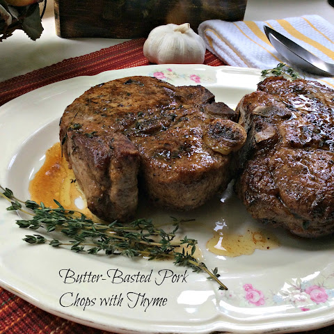 Butter-Basted Pork Chops with Thyme