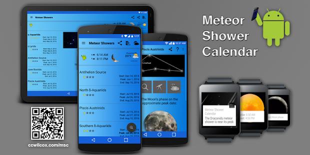 Meteor Shower Calendar