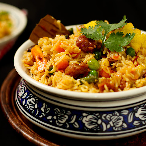 Nawabi Vegetable Pulao