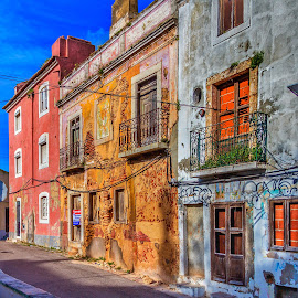 Old Town Setubal Portugal by Rick Pelletier - Novices Only Objects & Still Life