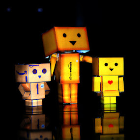 Danboo's family by Zlatan Dawamovic - Artistic Objects Toys