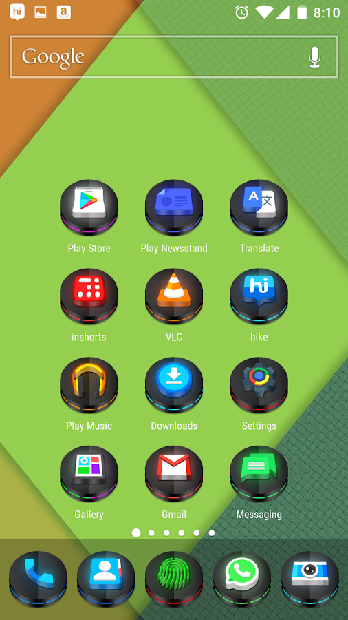 Neon 3D icon Pack Screenshot 1