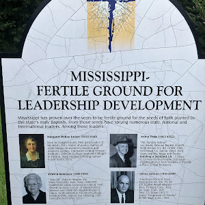 Mississippi has proven over the years to be fertile ground for seeds of faith planted by the state's early Baptists. From those seeds have sprung numerous state, national and international leaders. ...