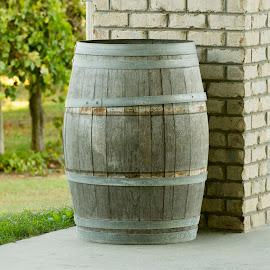Retired Wine Barrel by Gary Langston Jr. - Artistic Objects Antiques ( wine, vineyard, barrel )