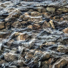 Agua by Jose Maria Vidal Sanz - Nature Up Close Water ( water, stones, river )