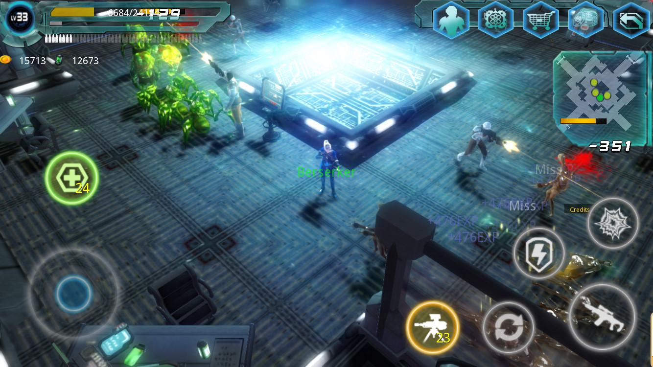 Alien Zone Raid Screenshot 1