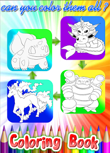 Coloring Pages For Pokmon  Free Online Games Online Play Games