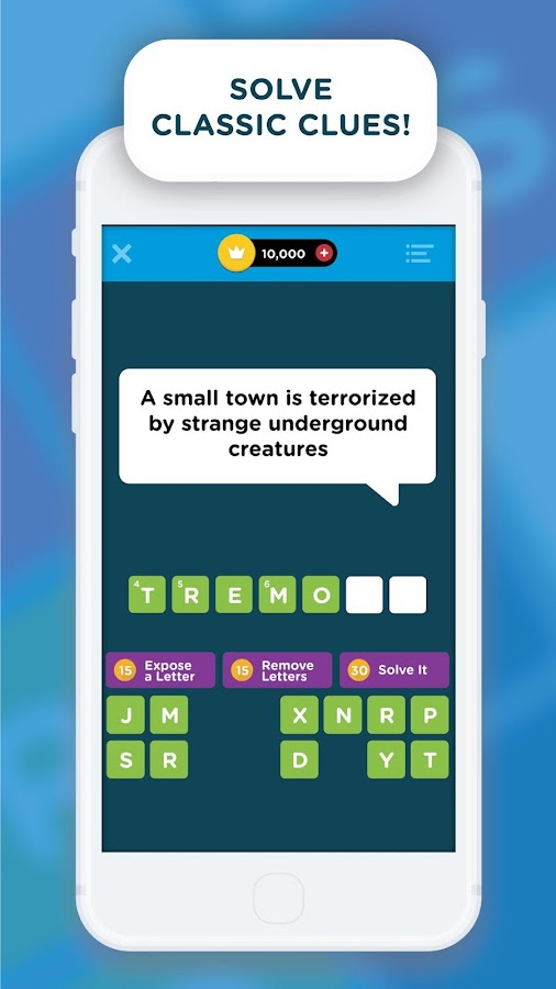 Crossword Quiz Screenshot 1