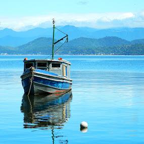 Boat by Leonardo Cardoso - Transportation Boats ( brazil, boat, barco de pesca )