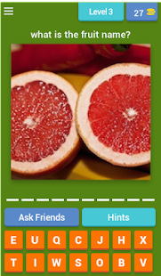 Guess the Fruit - screenshot