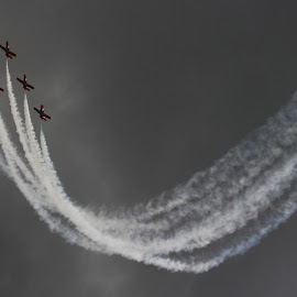 The Formation by Marcin Chmielecki - Transportation Airplanes