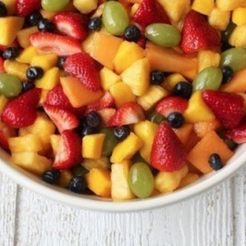 Fruit Salad For A Large Company
