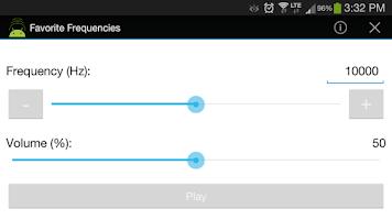 Screenshot of Favorite Frequencies