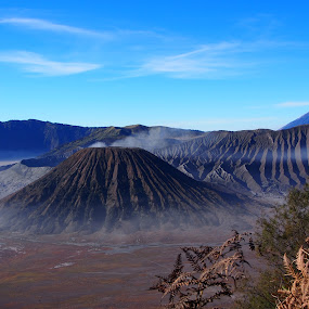 Bromo by Edwin Pfim - Landscapes Mountains & Hills ( , relax, tranquil, relaxing, tranquility )