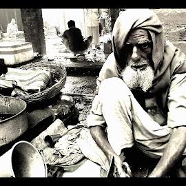 bazar by Sanjib Bera - People Portraits of Men