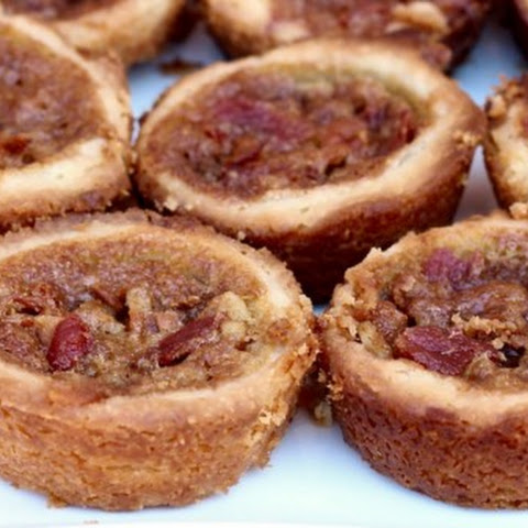 Maple Bacon Walnut Tarts