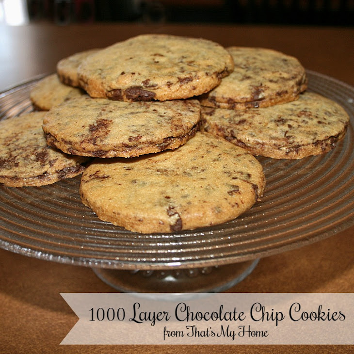 1000 Layer Chocolate Chip Cookies Recipe | Yummly