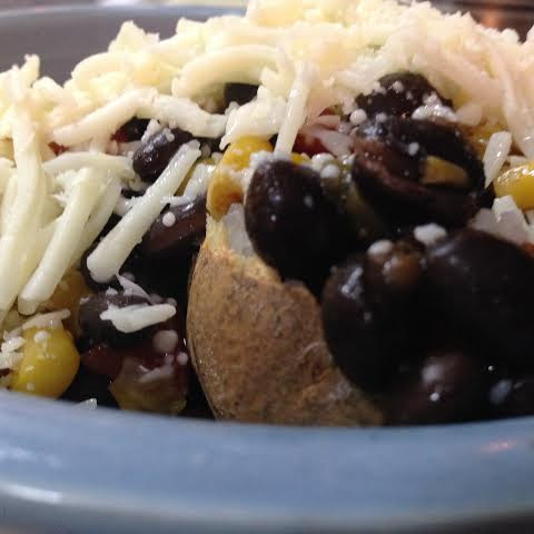 Mexican Stuffed Baked Potato