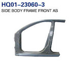 Accent 2006 Pillar, Side Body Frame Front AB, Side Body Frame