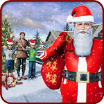 Santa Gift Delivery Simulator : Fun Christmas Game Icon