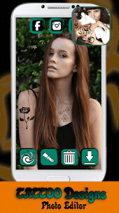 App Tattoo Designs Photo Editor APK for Kindle