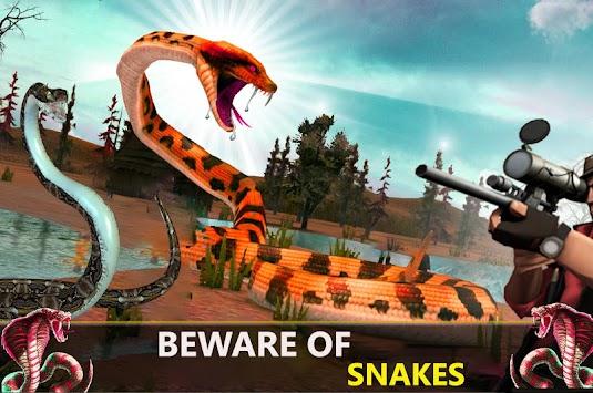 Sniper Snake Shooter Deadly City Attack Adventure apk screenshot
