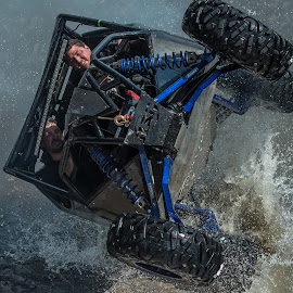 Splash by Loren Holloway - Sports & Fitness Motorsports ( 4x4, oklahoma, rock crawling, offroad, rock bouncing, what did i do, the face of defeat )