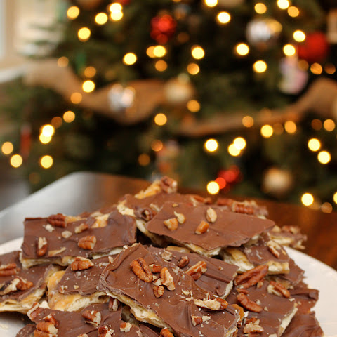 Saltine Chocolate Toffee