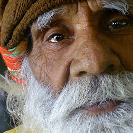 SADHU by DrBk Guha - People Portraits of Men