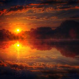 Start of the Day by DE Grabenstein - Landscapes Sunsets & Sunrises