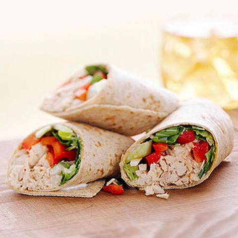 Asian Tuna Wraps