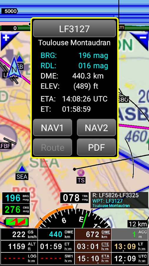 FLY is FUN Aviation Navigation Screenshot 1
