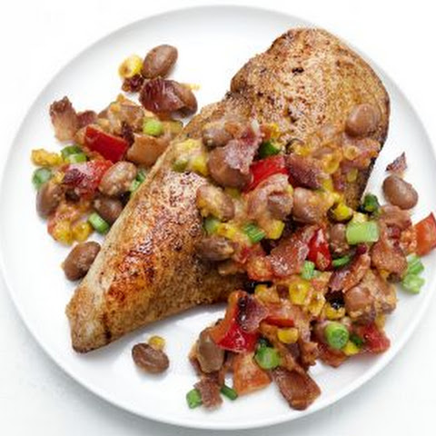 Cajun Chicken with Pinto Beans