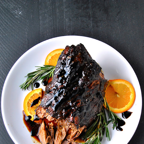 Balsamic Citrus Pork Roast