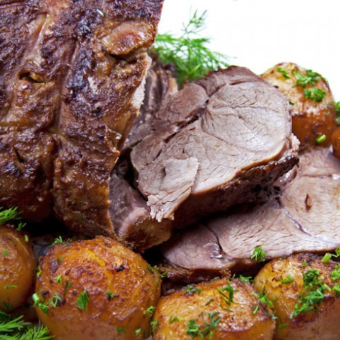 Boneless Roast Leg Of Lamb