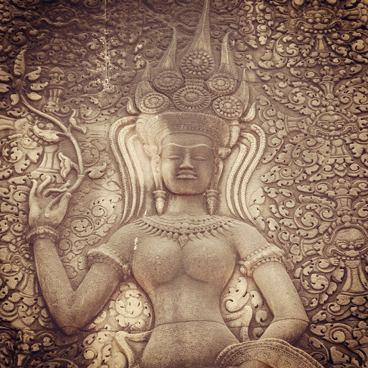Devata, Angkor Wat