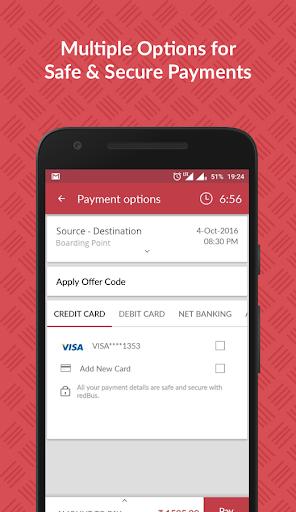 redBus - Online Bus Ticket Booking, Hotel Booking screenshot 4
