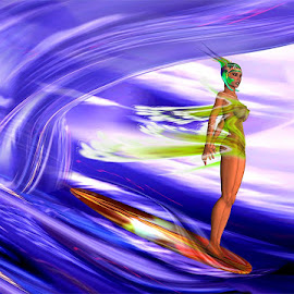 Surfing the Event horizon. by Nathan Stinson - Nudes & Boudoir Artistic Nude