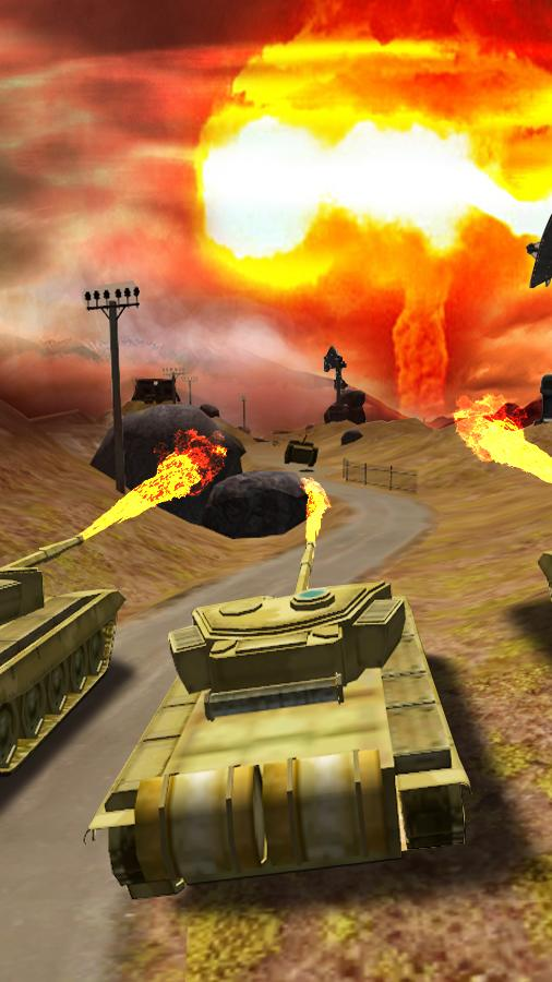 Clash of Tanks Screenshot 1