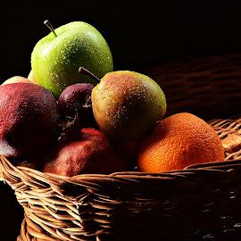 Fruit Basket by Prasanta Das - Food & Drink Fruits & Vegetables ( fresh, cane, fruits, assorted, basket )