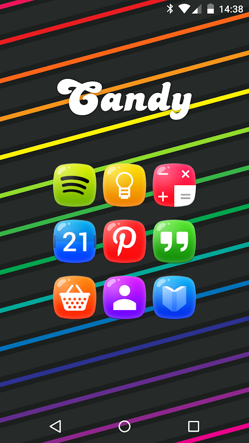 Candy - icon pack Screenshot 11