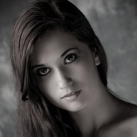Darkness by Myra Brizendine Wilson - People Fashion ( model, female, fashion model, female model )